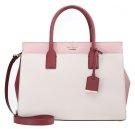 CANDACE - Borsa a mano - pink bonnet/merlot/crisp linen