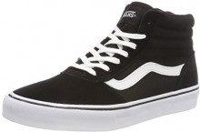 Vans Maddie Hi, Sneaker a Collo Alto Donna, Nero ((Suede/Canvas) Black/White Iju), 38 EU