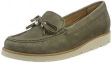 Gabor Shoes Casual, Mocassini Donna, Verde (Oliv Natur), 38 EU