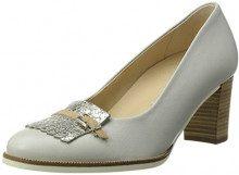 Gabor Shoes Comfort, Scarpe con Tacco Donna, Bianco (Ice/Argento 13), 39 EU