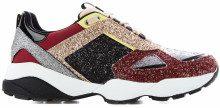 Sneakers con dettagli in glitter multicolore Multi-Coloured
