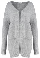 Cardigan - light grey melange