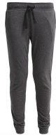 Pantaloni sportivi - grey melange/black