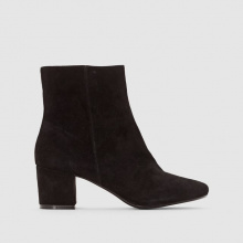 Boots in pelle scamosciata PEBBLE