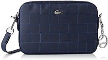 Lacoste Nf2599dt - Borse a tracolla Donna, Blu (Peacoat Limoges), 5x16.5x25.5 cm (W x H L)