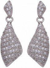 Orphelia donna-orecchini da donna in argento Sterling 925 con zirconi bianco ZO-5884