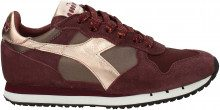 Sneakers Diadora Heritage trident Donna Rosso