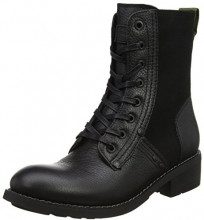 G-STAR RAW Labour Boot, Stivali da Motociclista Donna, Nero (Black), 39 EU