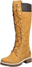 Timberland, Woms Prem 14In Wheat Wheat, Stivali alti, Donna, Marrone (Braun (Wheat Nubuck)), 40
