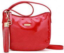 Tamaris Madina Crossbody Bag S - Borse a tracolla Donna, Rosso (Chili Comb), 6x15x19 cm (W x H L)