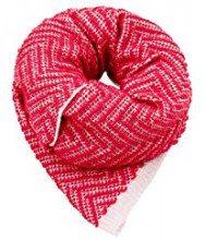 ESPRIT Accessoires 108ea1q010, Sciarpa Donna, Rosso (Plum Red 605), Unica (Taglia Produttore: 1SIZE)