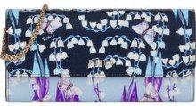 FURLA BABYLON portafoglio a tracolla toni blu