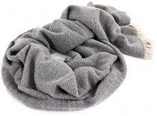Liebeskind Berlin H1189530 Wool, Bandana Donna, Grau (Grey Melange F 93x1), 100