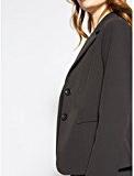 Motivi: giacca donna modello blazer in cotone tecnico stretch, foderato