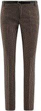 oodji Ultra Donna Pantaloni Basic con Cintura, Beige, IT 46 / EU 42 / L
