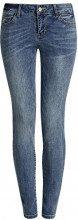 oodji Ultra Donna Jeans Basic Slim Fit, Blu, 26W / 30L (IT 40 / EU 36 / XS)