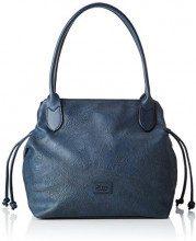 Gabor Granada Paisley - Borse a spalla Donna, Blu (Blau), 43x28x17.5 cm (B x H T)