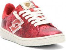 Sneakers bassa Autograph da donna rosse.