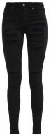 REGINA - Jeans Skinny Fit - black