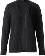 Street One 312746, Cardigan Donna, Nero (Black 10001), 52