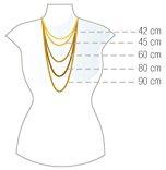 Dolce & acciaio inossidabile catena Gabbana DJ0547
