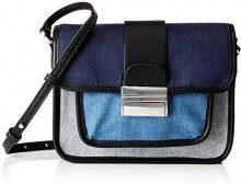 Esprit Accessoires 098ea1o039 - Borse a tracolla Donna, Blu (Blue), 6x16x22 cm (B x H T)