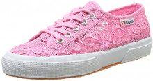 Superga 2750-Macramew, Sneaker, donna, Rosa (V28 Begonia Pink), 36
