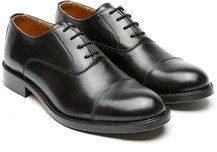 Scarpe modello oxford, nero