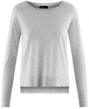 oodji Ultra Donna Maglione Basic Largo, Grigio, 38cm / IT 48 / EU 44 / XL