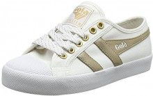 Gola Coaster Mirror White/Gold, Sneaker Donna, Bianco Wy, 37 EU