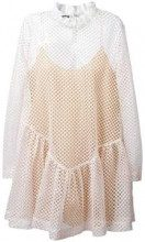 Jourden fishnet dress