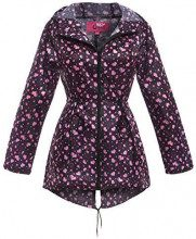 SS7 -  Giacca Impermeabile - Parka - Donna Pink Heart 44