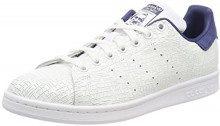 Adidas Stan Smith W, Sneaker Donna, Bianco (Balcri/Balcri/Negbas 000), 40 EU