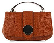 BORSA MINI BAG CON STAMPA COCCO COLOR ARANCIO