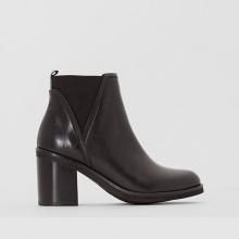 Boots in pelle elasticizzata