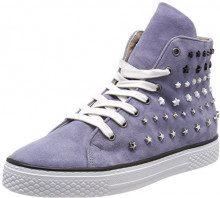 Mjus 807206-0201-6096, Sneaker a Collo Alto Donna, Blu (Jeans 6096), 39 EU