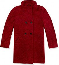 Only Onlsophia Boucle Wool Coat CC Otw, Giubbotto Donna, Rosso (Scooter Detail:Melange), 42 (Taglia Produttore: Small)