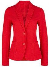 s.Oliver 14.901.43.5080, Blazer Donna, Rosso (Red 3123), 42 (Taglia Produttore: 36)