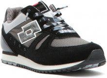 Sneakers bassa tokyo shibuya da donna nero e grigio.