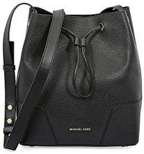 Michael Kors Cary Small Bucket Bag - Borse Tote Donna, Nero (Black), 16x25x24 cm (B x H T)