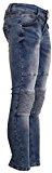 BASIC.de Pantaloni aderenti modello Biker