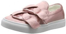 Lost Ink Hally Side Bow Slip On (Wide Fit) Sneaker Donna (Pink 0059), 36 EU