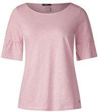 Cecil 312115, T-Shirt Donna, Rosa (Soft Blossom 11216), XS