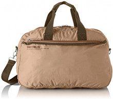 Bensimon Sport Bag - Borse a tracolla Donna, Beige, 12x28x45 cm (W x H L)