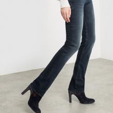 Jeans taglio dritto, vita normale