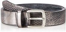 BRAX Damengürtel 58-0987, Cintura Donna, Grigio (Grey 6), 90 cm