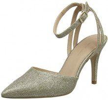 New Look 5796851, Scarpe col Tacco Punta Chiusa Donna, Oro (Gold 93), 37 EU