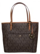 JET SET - Shopping bag - brown