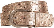 Cintura metallizzata
