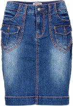 Gonna di jeans elasticizzata Authentic